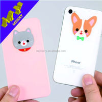 Giveaways gifts sticky screen cleaner / mobile phone cleaner sticker