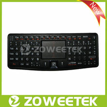 Ultra Mini AZERTY Bluetooth Keyboard with Touchpad for Android