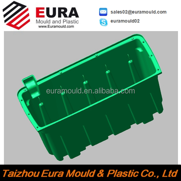 plastic injection air cooler body mould, injection mould china supplier
