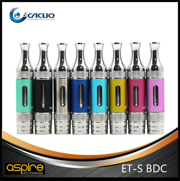 stainless steel 2ml aspire et-s bdc glassomizer rainbow aspire et s bdc