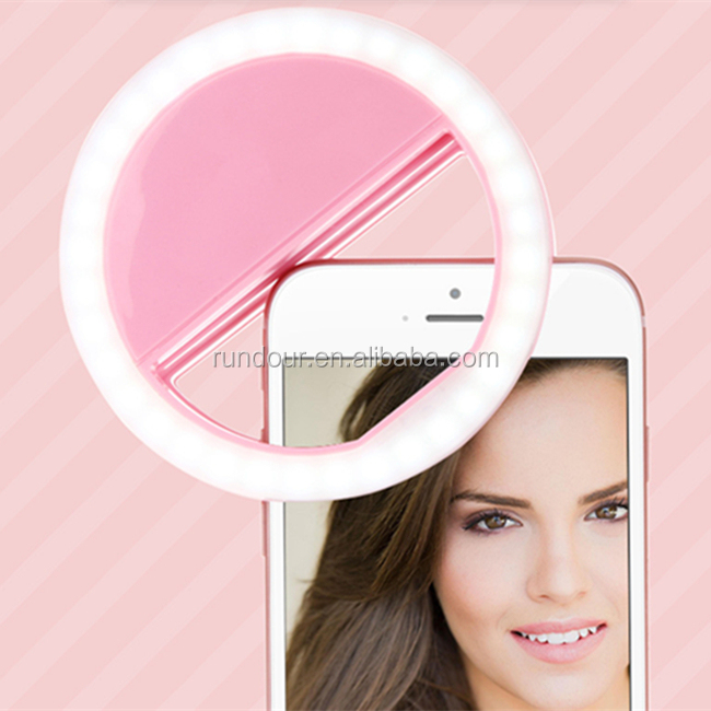cheap price fashion take photo clip on the phone 36 led selfie ring light