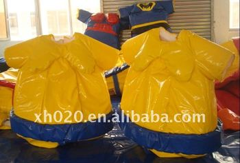 SW114 Hot sale kids and adults Foam Padded Sumo Suits