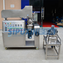 Spx-Latest small cosmetic cream making machinery/vacuum homogenizer/vacuum mixer