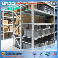 URGO medium duty shelving and steel warehouse racking are the most economical products