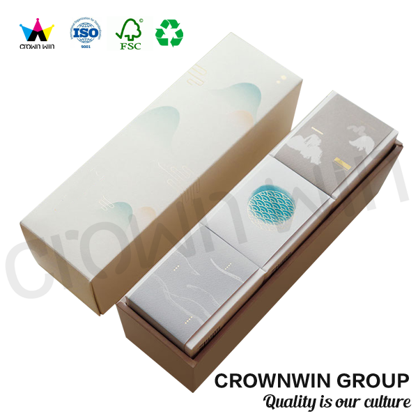 Crownwin High End Elegant Luxury Fragrance Paper Gift box Packaging