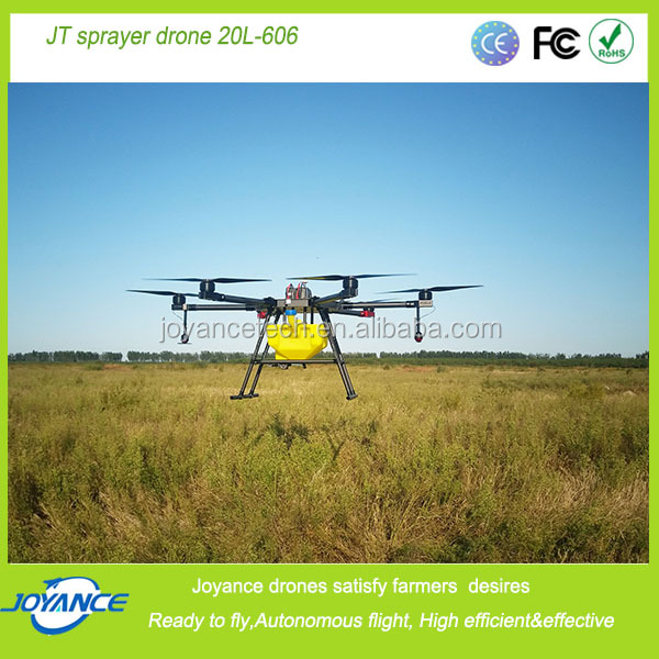 DJI flight control 20KG JT20L-606 Battery Sprayer UAV Drone/ Helicopter and gyrocopter.