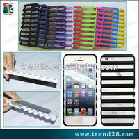 fashion ladder design pc cell phone case for iphone5