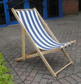 Hot Selling Outdoor Wooden Folding Beach Chair