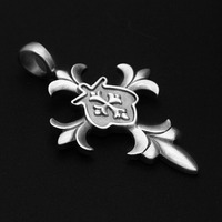 antique silver plating charms and pendants for jewelry making