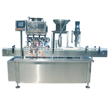 Plastic glass bottle sauce/<strong>fruit</strong> jam/ honey jar filling capping machine customized packing machine