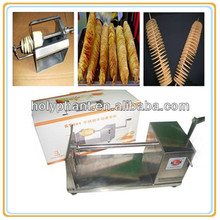 factory price high quality potato tower machine/manual spiral carrot tornado cutter