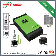 Hybrid Solar Power Inverter DC AC 20kw with MPPT Charge Controller Inside