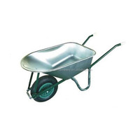 Solid rubber wheel agricultural farm tools wheel barrow of manufacturer/large wheel barrow 160kg