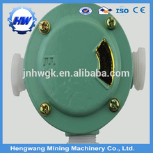 Explosion-proof mine safety circuit junction box three ways