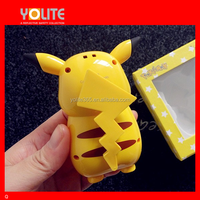 hot new products for 2016 fashion cute pokemon cartoon power bank 6000mah