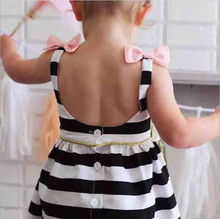 W8409 Girl Dress Summer Baby Girls Clothes Baby Party Birthdays Clothing