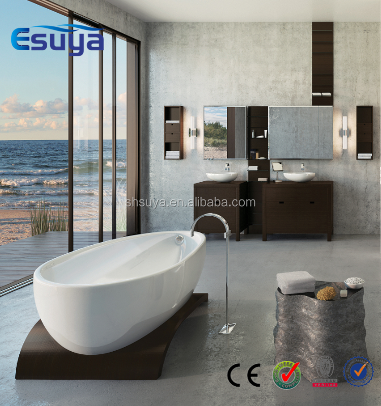 Hot Sale Low Price Acrylic Bathtubs With Seat Freestanding