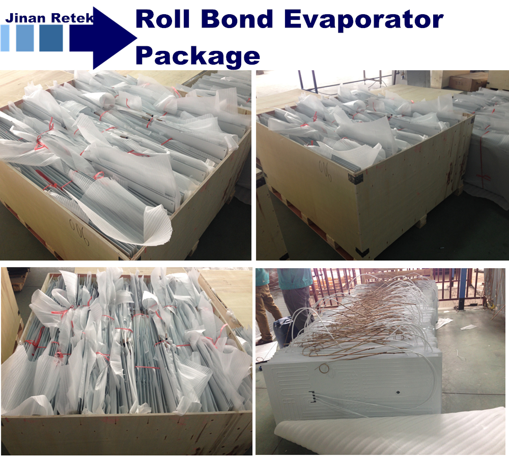 roll bond evaporator package_