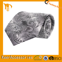Luxury pattern with factory price wholesale silk ties