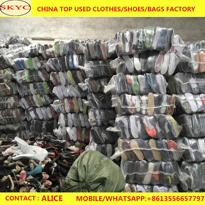 Bulk second hand shoes in dubai for Kenya/Uganda/Tanzania west Africa hot sale used shoes