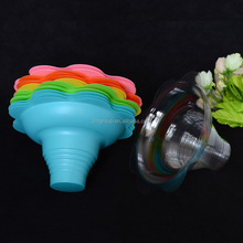 Plastic Flower Cups 8 ounce for Shaved Ice