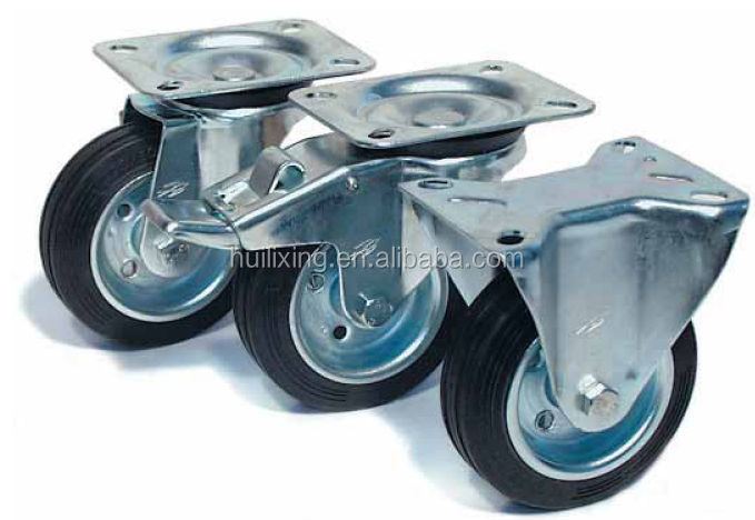 Made in china Medium duty casters wheel hot in 2015