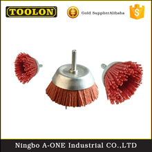 Quality-assured wire brush for grinder