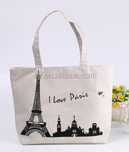 Wholesale cotton material canvas travel tote bag