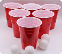 Popular style ps manufature disposable plastic drinking cup factory