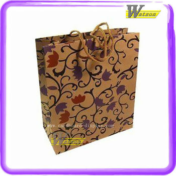 custom-made paper shopping bag for clothes
