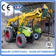 2016 Ground Screw Pile Driver Ground Hole Drilling Machine For sale