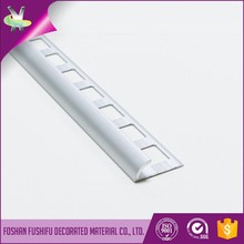 wall and floor design 12mm aluminium metal tile trim
