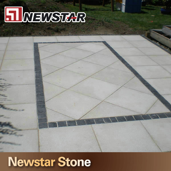Chinese hot sales outdoor stepping limestone tiles