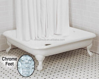 Square Cast Iron Shower Tray/ Shower Pan Sizes&Prices
