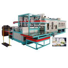 Fully automatic disposable food container production line