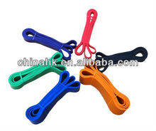 8-shaped latex exercise resistance band