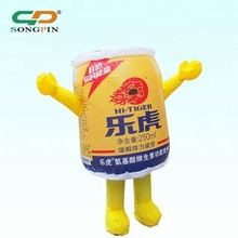 Factory cheap Outdoor advertising christmas funny cartoon lovely inflatable for sale