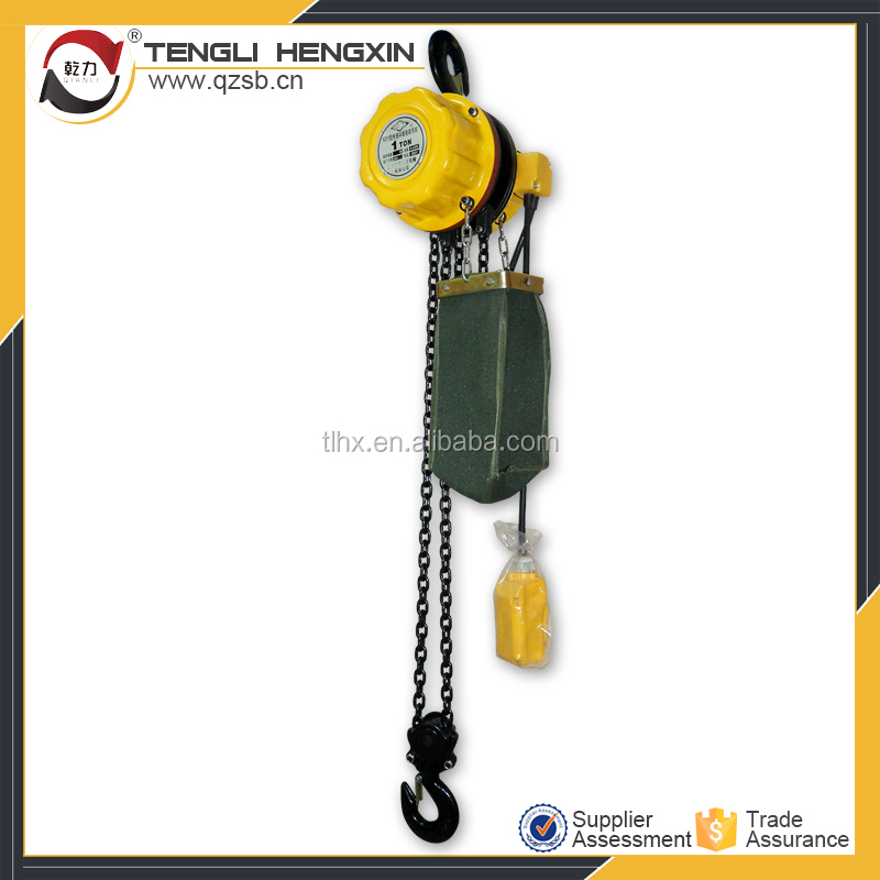 Beijing China chain hoist 5 ton 3M electric block and tackle