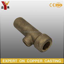 Silicon sol casting bronze safety valve
