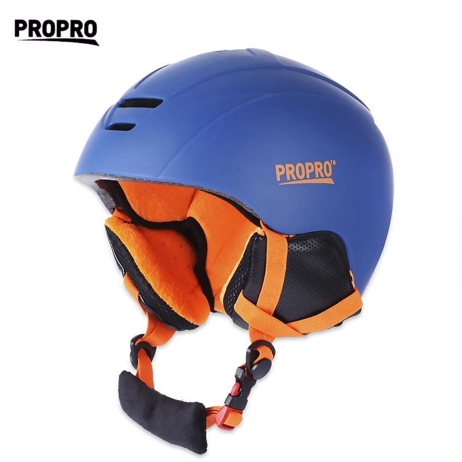 PROPRO Skiing Helmet with Inner Adjustable Buckle Liner Cushion Layer Skating/Skateboard Helmet M L Sizes Snowing Helmet