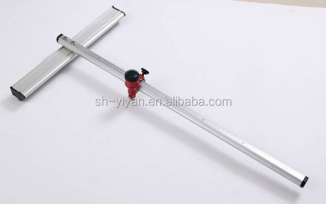 glass cutter T shaped 1800mm length for big piece glass