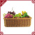 S&D 2017 rattan display retail store fruit basket supermarket display stand