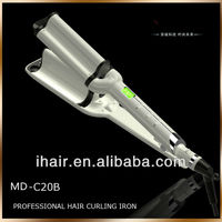2013 New Professional Best Hair Salon Equipment Wave Ceramic Hair Curling Iron