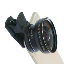 wholesale price smart mobile 2 in 1 Wide Angle + Micro 0.45x phone camera lens kit