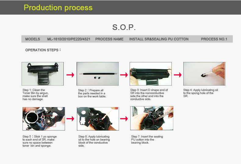 Compatible toner cartridge for fuji xeroxs 550 toner for xeroxs docucolor C560 550 570 6680 7780 tone