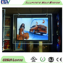 Crystal light box advertising signs, outdoor advertising free standing light box