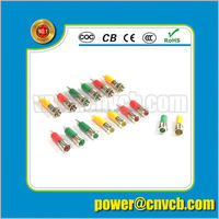 Practical and economical illuminated waterproof IP67 3A 16MM push button switch with coloful indicator lamp led light