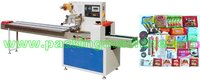 biscuit, chocolate, snow cake, egg roll Packing Machine