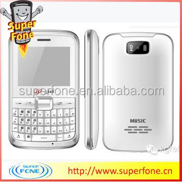 T722 2.4 inch GSM 900/1800/850/1900 qwerty keyboard mobile phone support multi language