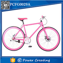 26inch fixie bike city cycling road bike fixed gear with disc brakes